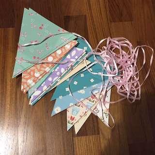 BN Paper buntings