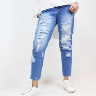 Ripped Jeans Faroshah Fully Lined