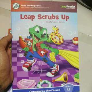 Leap Frog LeapReader Leap Scrubs Up