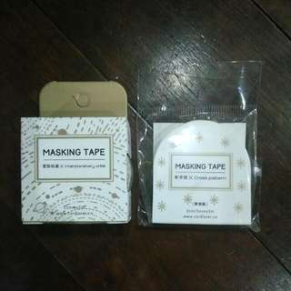 Assorted Gold Foil Washi Tape