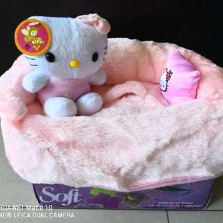 Hello Kitty Tissue Box Cover