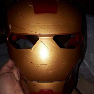 Ironman mask by hasbro