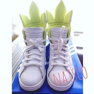adidas originals stan smith trefoil hi w 白色 三葉 波鞋