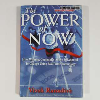 The Power of Now by Vivek Ranadivé [Hardcover]