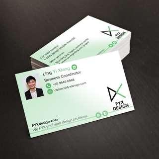 Website design, logo design and namecard design