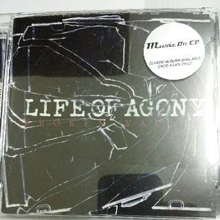 Music CD: Life Of Agony ‎– Broken Valley - Alternative Rock, Hardcore