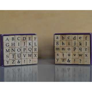 Studio g - Alphabet Stamp Set