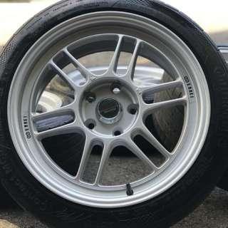 Enkei rpf1 17 inch new rim + 2nd tyre 70% sports rim suprima. Makan cendol dengan awek shah alam, brother ini rim you pakai confirm awek you sayang dalam dalam!!!