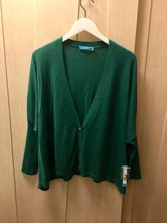 (New) Alice+Olivia dark green with gold button cardigan 👸🏻