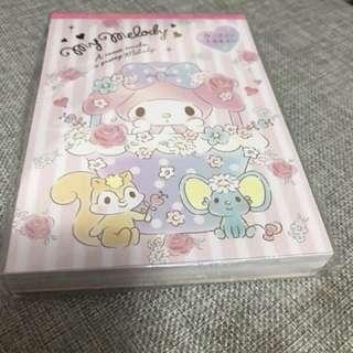 My melody Memo pad