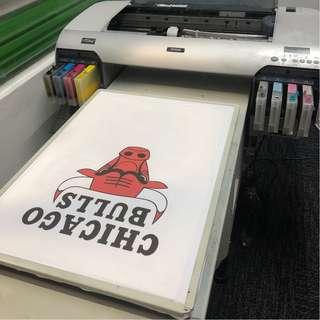 Epson Stylus Pro 4880C DTG Commercial T-Shirt Printer