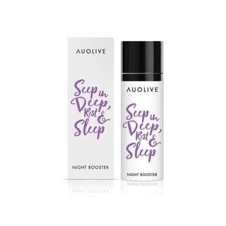 Auolive Night Booster - Collagen Restorative Moisturizer