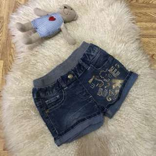 Denim short fits to 4-8 years old / direct contact #09956396640