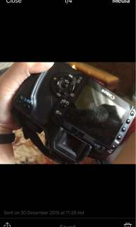 Canon 400D. Kindly message for inquiries.