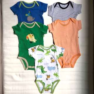Carter's rompers ($6 for 5)