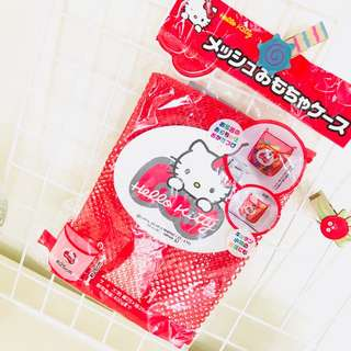 Hello kitty Sanrio carrier bag accessories kitchen bath