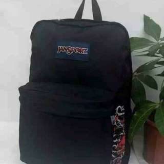 Jansport black backpack 黑色背包