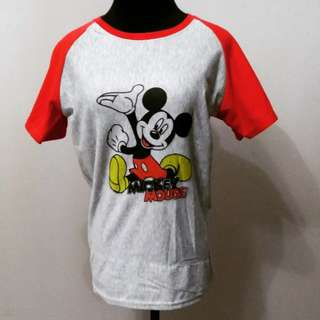 Mickey Red/grey