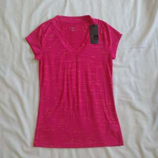 Pink V Neck Mossimo Top