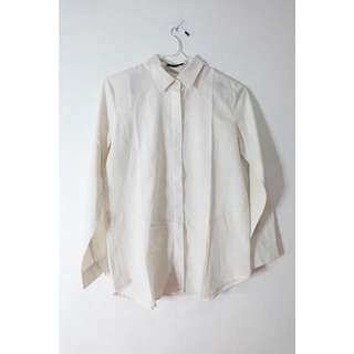 COTTONINK white long sleeves shirt