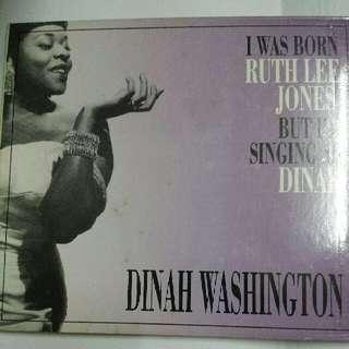 Music CD: Dinah Washington–I Was Born Ruth Lee Jones, But I'm Singing As Dinah