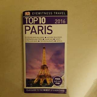 DK travel Top 10 Paris