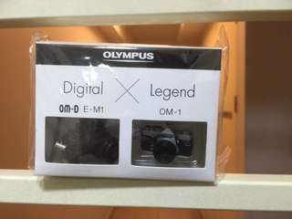 Olympus OMD EM-1/OM-1 Miniature Toy Camera Replica Keychain/Ornament (Unopened)