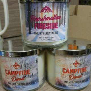 Bath & Body Works 3-wick Candle - Campfire Donut