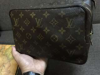 Authentic Louis Vuitton Trousse PM
