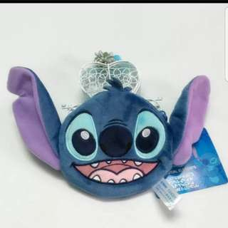 In stock disney Paris stitch and lilo coin pouch size is 12 × 11cm