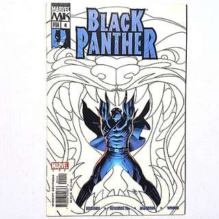 Marvel Comics Black Panther 4 Near Mint Condition Inspiration for Movie Visuals