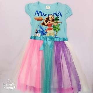 Moana Tutu Dress (2T-8T)