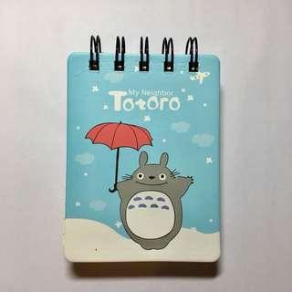 Notes buku totoro
