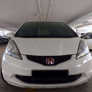 CAR RENTAL GRAB/UBER READY HONDA FIT 1.3A