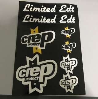 Limited edt stickers