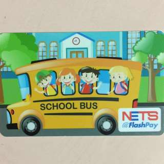 United Edition brand new School Bus Design Nets Flash Pay Card For $11.90.
