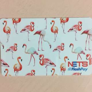 Limited Edition brand new Flamingo Design Nets Flash Pay Card For $11.90.