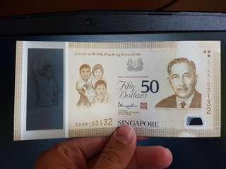 SG50 Notes 50 Dollar