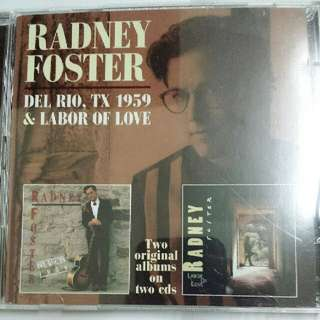 Music CD (2xCD, Country): Radney Foster - Del Rio TX 1959