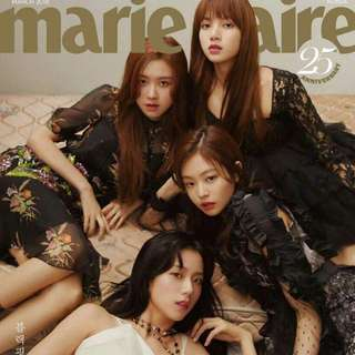 Marie Claire March 2018 (Feat. Blackpink)