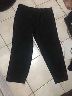 Celana hitam kain