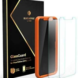 KARAPAX by ANKER Glass Guard Tempered Glass Screen Protector (iPhone X)