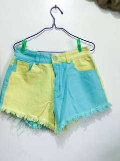 Summer ripped shorts
