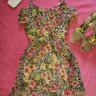Bershka BSK Floral Dress
