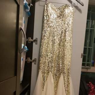 Long glamorous gown brand new