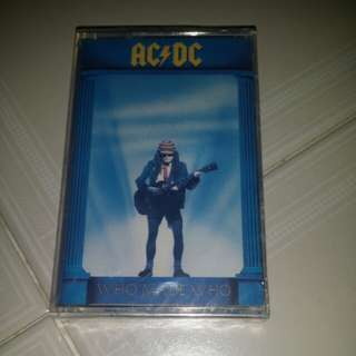 AC/DC - Who Made Who cassette sealed