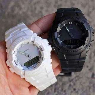 G-100 COUPLE GSHOCK WATCH