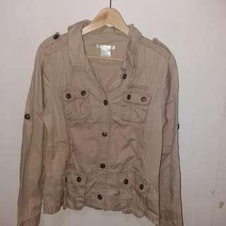 Parka-like jacket. No flaws