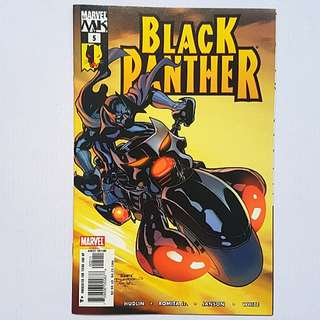 Marvel Comics Black Panther 5 Near Mint Condition Inspiration for Movie Visuals and stoyline