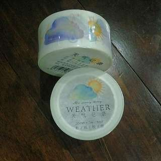 Weather Washi Tape